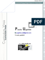 Curriculum Vitae Paula Ugalde