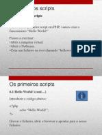 6 - Os Primeiros Scripts