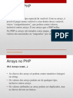 10- Arrays No PHP