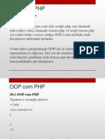20 - OOP com PHP
