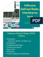 SDR Interference Issue NavinKumar