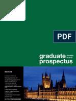 LSE Graduate Prospectus