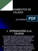 INTRODUCCIÓN A LA CALIDAD