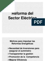 Reforma Sector Electrico