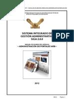 001-Manual de Administracion de Portal Web