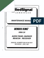 king kma24 maintenance manual