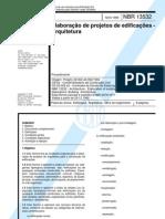 NBR13532_1995 - Elaboração de projetos de edificações - Arqu