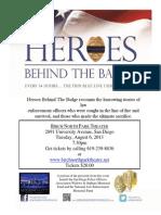 Heroes Behind the Badge Screening Flyer (2)