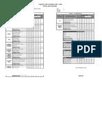 Tarjeta de InformaciÓn - 2009 Nivel Secundario Apellidos y