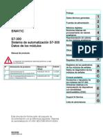 S7300 03 Datos de Los Modulos