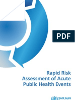 Rapid Risk