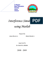 Interference Simulation Using MATLAB