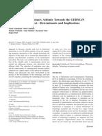 Primary Care Physician's Attitude Towards the GERMAN E-Health