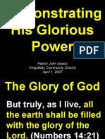 04-01-2007 god's glorious power