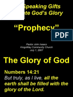 07-01-2007 speaking gifts - prophecy