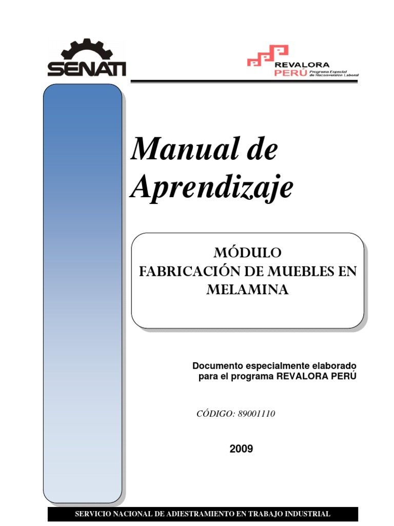 51176785 manual fabricacion de muebles en for Manual de carpinteria muebles pdf