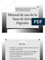 Manual Uso Base Datos Digitalia