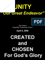 04-06-2008 unity - our great endeavor