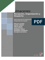 Recepcion,Organizacion y Despacho