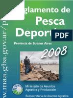PBA.reglamento de Pesca Deportiva 2008