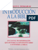 Donald E. Demaray - Introduccion a La Biblia