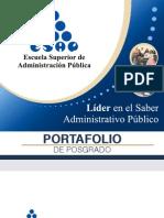 Portafolio de Posgrado ESAP