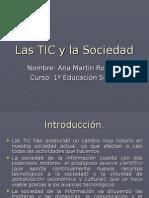 Las TIC y La Sociedad