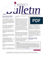 Retail Consulting - National Retail Bulletin - J.C. Williams Group - April 2009