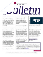 Retail Consulting - National Retail Bulletin - J.C. Williams Group - March 2009