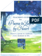 Poems to Learn by Heart teaching guide