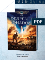 The Kane Chronicles -- The Serpent's Shadow discussion guide