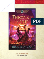 The Kane Chronicles -- The Throne of Fire discussion guide