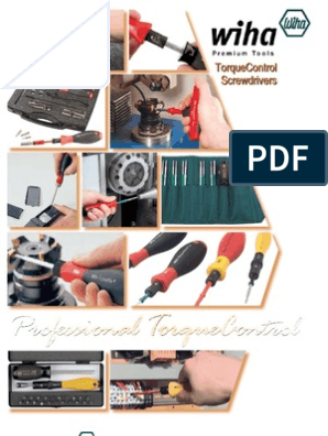 Wiha 28522 15-80 in-oz ESD Adjustable Torque Screwdriver
