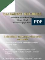 Calamitati naturale