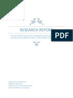Research Methods, Prposal by Imran Khan