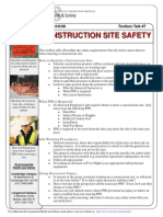 Toolbox Talk Construction