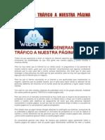 GENERANDO TRÁFICO A NUESTRA PÁGINA WEB