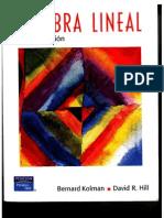 Algebra Lineal - 8va Edición - Bernard Kolman & David R. Hill