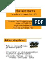 Teresa Blanco Aditivos Alimentarios 2012