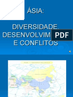Ásia -  Diversidade, Desenvolvimento e Conflitos