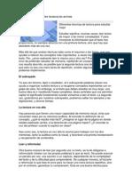 APLICACIÓN DE DIFERENTES TECNICAS DE LECTURA