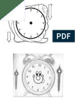 Modelo Reloj Para Imprimir