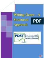 Writing Booklet to Circulate