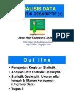 Slide Statistik Kes - D4 Sanits- 3 Agst 2013