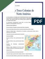 13 Colonias de America