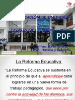 DISEÑO DE LA CLASE Y LA DIDACTICA - 20 diapos