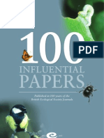 100 Influential Papers of Ecology
