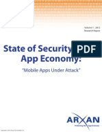 State of Security App Economy