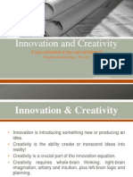Inovation and Creativity