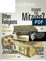 Jewish Times - VOL. XII NO. 19 — AUG. 2, 2013